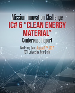 "Report on ""Clean Energy Materials Innovation"" Challenge"