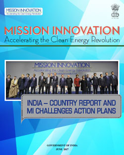 Mission Innovation India - Country Report - 2017