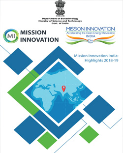 2nd Mission Innovation India Stakeholders Meet on CLEAN ENERGY INNOVATION