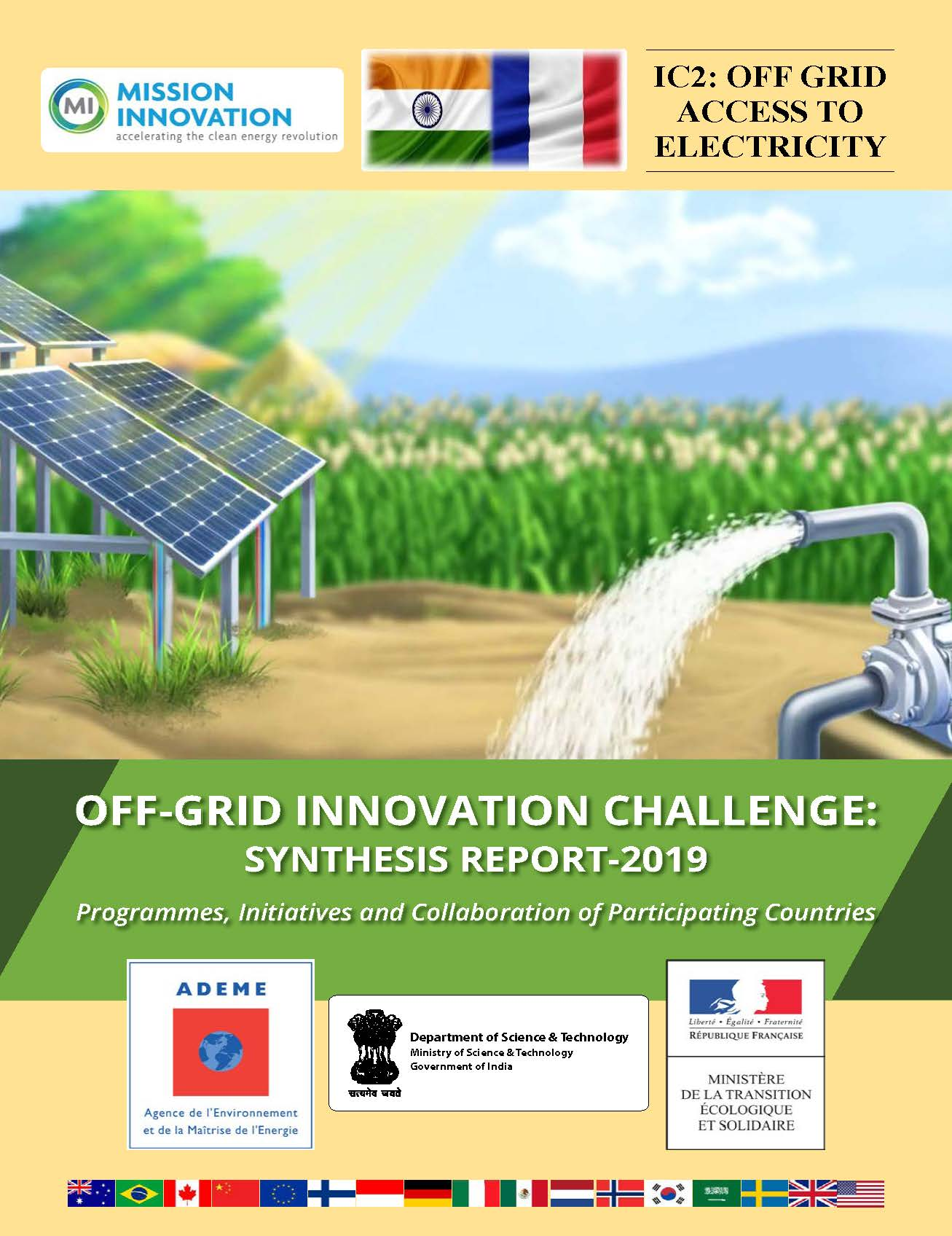 Off-Grid Innovation Challenge (IC2): Synthesis Report-2019